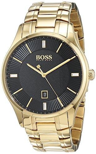 Hugo BOSS Reloj Análogo clásico para Hombre de Cuarzo con Correa en Acero Inoxidable 1513521