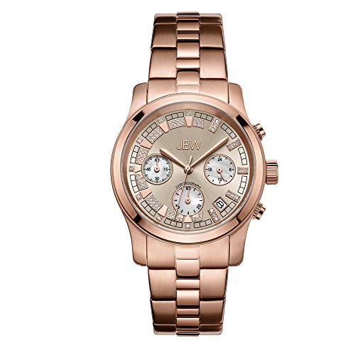 JBW Alessandra Reloj DE Mujer Diamante Cuarzo 38MM ANALÓGICO JB-6217-L