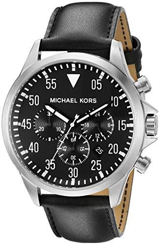 Michael Kors Reloj Cronógrafo para Hombre de Cuarzo con Correa en Acero Inoxidable MK8442