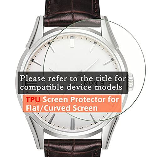 VacFun 3 Piezas HD Claro Protector de Pantalla para Hublot Classic Fusion CLASSICFUSION 521NX1171RX (Not Cristal Templado) Screen Protector Sin Burbujas Película Protectora