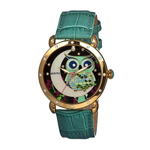 Bertha BTHBR3003 - Reloj para Mujeres Color Turquesa