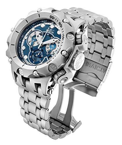 Invicta Venom - Reloj de pulsera de acero inoxidable con cronógrafo de cuarzo de 51 mm para hombre (32761)
