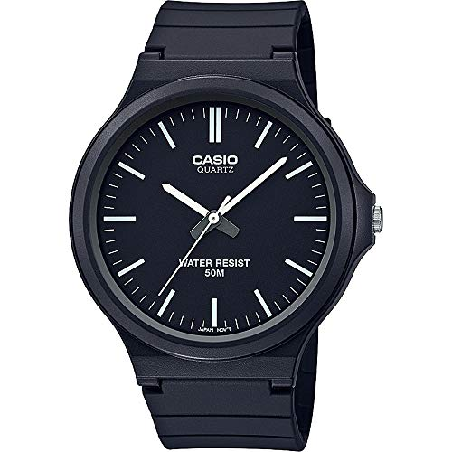 CASIO MW-240-1EVEF - Reloj Analógico Unisex Adultos, de Cuarzo con Correa en Resina