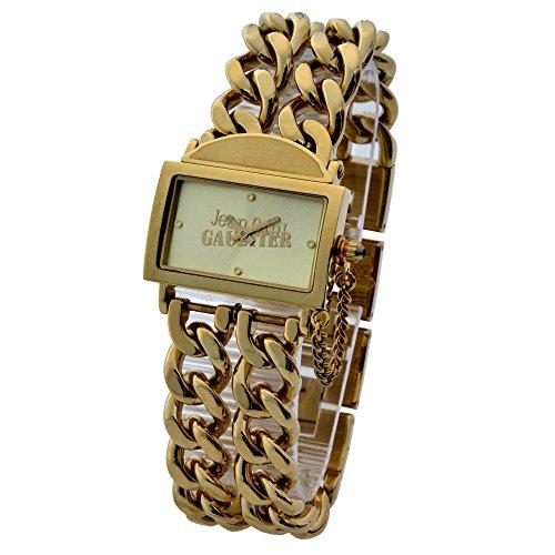 Jean Paul Gaultier Reloj Análogo clásico para Mujer de Cuarzo con Correa en Acero Inoxidable 8500603