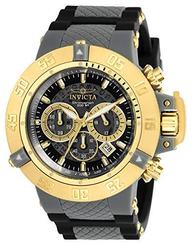 Invicta 0930 Subaqua - Noma III Reloj para Hombre acero inoxidable Cuarzo Esfera gris