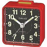 Casio Collection Despetador TQ140, Resina, Rojo