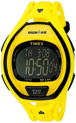 Timex Ironman Sleek 50 Reloj de pulsera de resina de tamaño completo