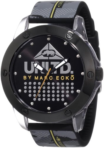 Marc Ecko Reloj Análogo clásico para Hombre de Cuarzo con Correa en Silicona E09520G6