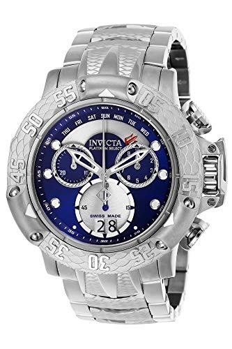 Invicta 26209 Subaqua Poseidon Reloj para Hombre acero inoxidable Cuarzo Esfera azul