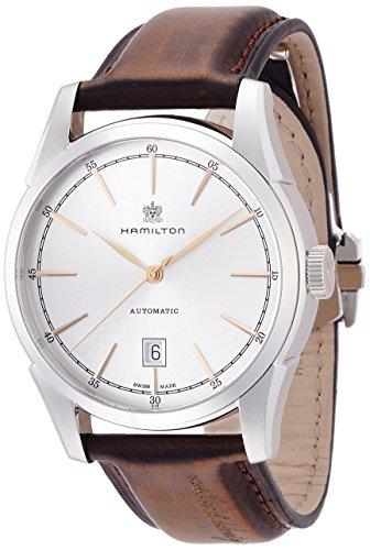 Hamilton H42415551 American Classic Spirit of Liberty Reloj analógico automático Suizo marrón