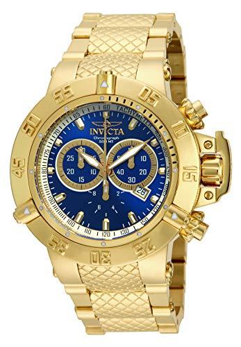 Invicta 14501 Subaqua Noma III Reloj para Hombre acero inoxidable Cuarzo Esfera azul