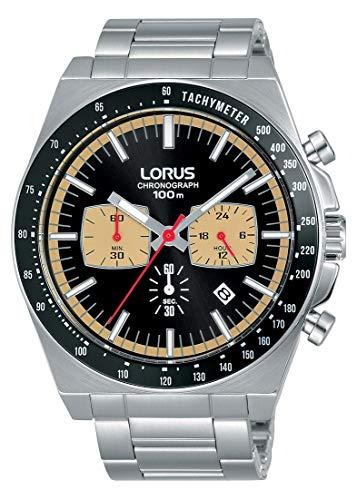 Lorus Reloj Cronografo para Hombre de Cuarzo con Correa en Acero Inoxidable RT351GX9