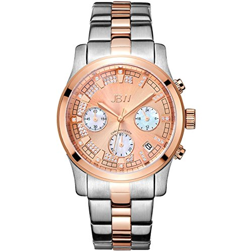 JBW Alessandra Reloj DE Mujer Diamante Cuarzo 38MM ANALÓGICO JB-6217-M