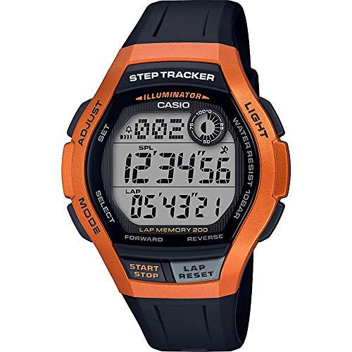 Casio Reloj Digital para Hombre de Cuarzo con Correa en Resina WS-2000H-4AVEF