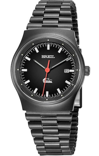 Reloj BREIL por Hombre Manta Vintage con Correa de Acero, Movimiento Time Just - 3H Cuarzo