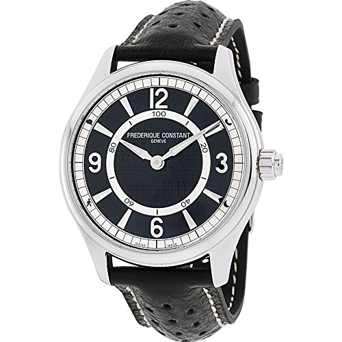 FREDERIQUE CONSTANT Reloj Binario para Hombre de Cuarzo con Correa en Cuero FC-282AB5B6