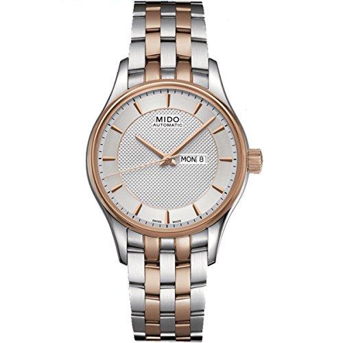 Mido Belluna M0012302203191 - Reloj para Mujeres, Correa de Acero Inoxidable Multicolor