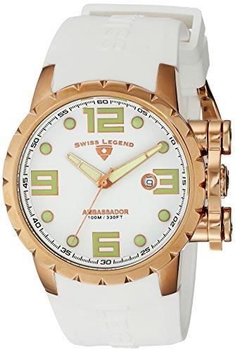 Swiss Legend Reloj Ambassador Blanco