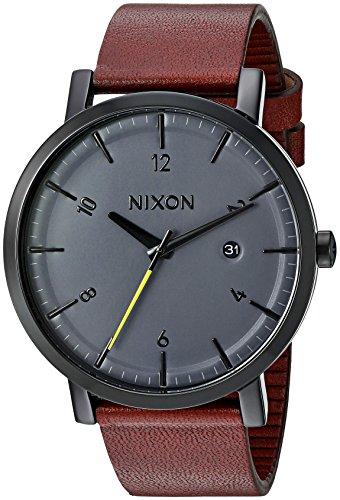 Nixon A945017 - Reloj de Pulsera Hombre, Color Marrón
