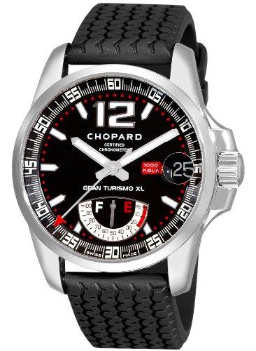 Chopard 168457-3001 - Reloj para Hombres, Correa de Goma Color Negro