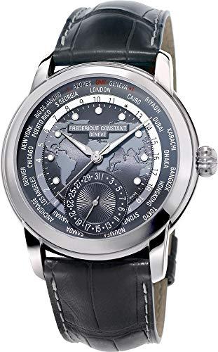 Frederique Constant Geneve Classic Worldtimer Manufacture FC-718DGWM4H6 Reloj Automático para hombres