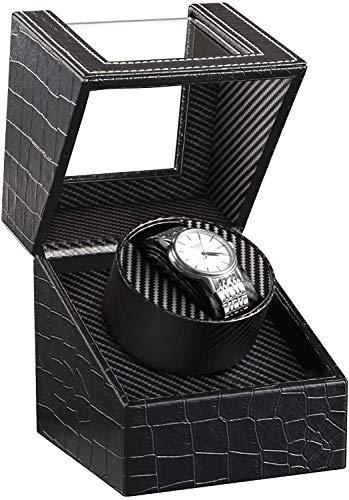 HBselect Cajas Giratorias para Relojes Caja Relojes Automaticos Caja De Relojes Mecánicos Caja Bobinadora
