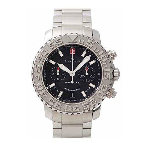 Blancpain 2285A-1130-71 - Reloj para Hombres, Correa de Acero Inoxidable Color Plateado