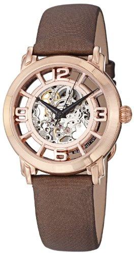 Stuhrling Original Lady Winchester 156.124T14 - Reloj de pulsera Automático Mujer correa deCuero Marrón