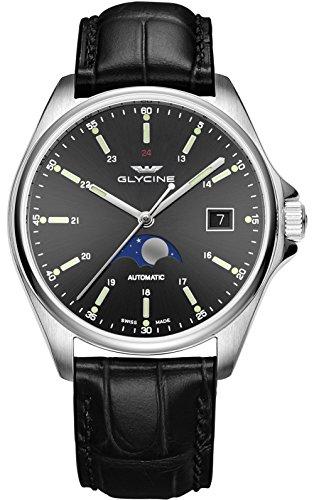 Glycine Combat Classic Moonphase relojes hombre GL0116