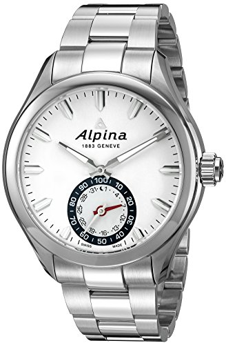 ALPINA HOROLOGICAL SMARTWATCH RELOJ DE HOMBRE CUARZO 44MM DE ACERO AL-285S5AQ6B