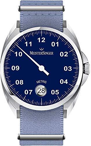 MeisterSinger Metris ME908 Reloj automático con sólo una aguja