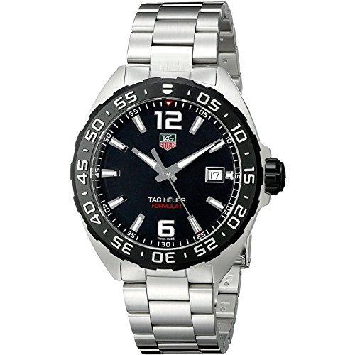 TAG Heuer WAZ1110.BA0875 - Reloj, Correa de Acero Inoxidable Color Plateado