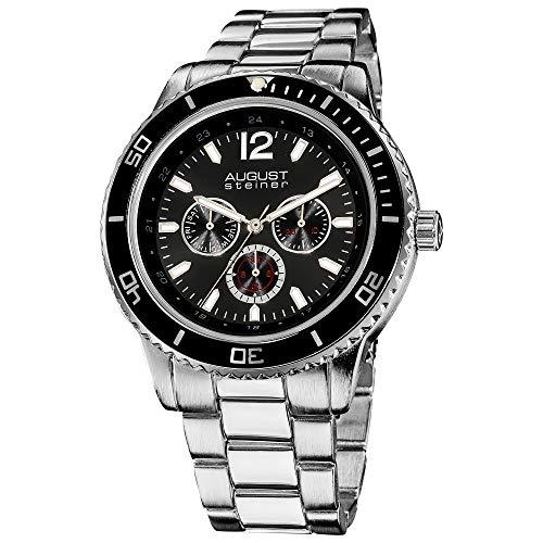 August Steiner AS8059BK - Reloj para hombres