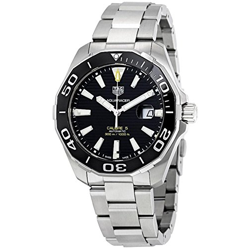 RELOJ TAG HEUER AQUARACER CALIBRE 5 AUTOMATIC WATCH 300 M 43 MM WAY201A.BA0927