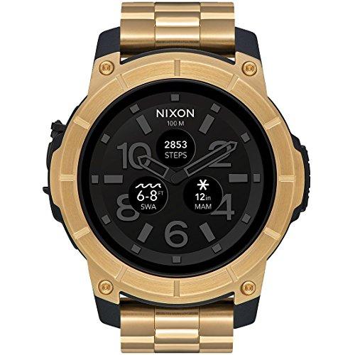 Nixon Mission A1216501 - Reloj inteligente en acero con pantalla táctil para deportes de acción.