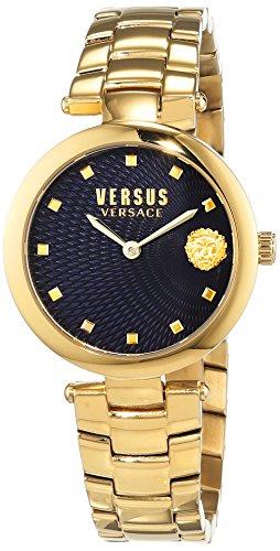 Versus Versace Reloj Analogico para Mujer de Cuarzo con Correa en Acero Inoxidable VSP870718