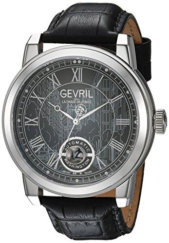 Gevril Reloj con Movimiento Cuarzo Suizo Man Washington 47 mm