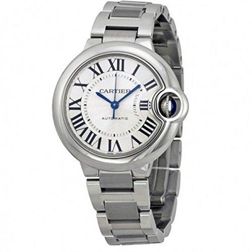 Cartier Ballon Bleu - Reloj (Reloj de Pulsera, Femenino, Acero Inoxidable, Acero Inoxidable, Acero Inoxidable, Acero Inoxidable)