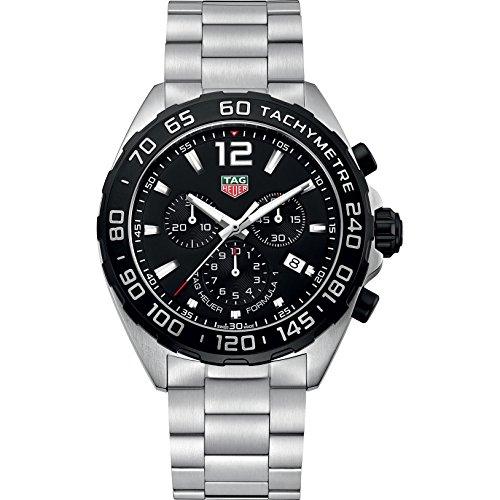 TAG Heuer orologio Formula 1 cronografo 43mm 200m quarzo acciaio CAZ1010.BA0842