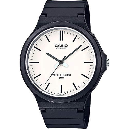 Casio Reloj Analógico para Unisex Adultos de Cuarzo con Correa en Resina MW-240-7EVEF