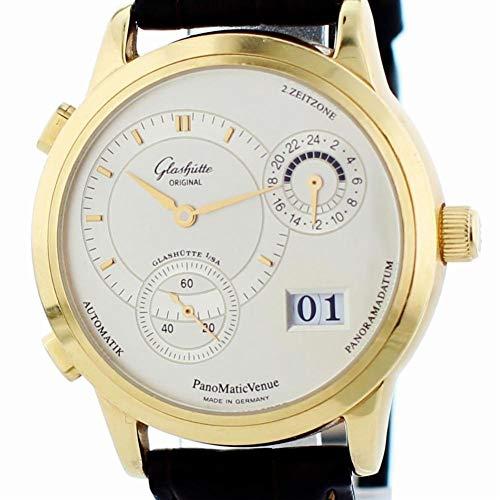 Glashutte Original Panomatic - Reloj mecánico de mano con viento macho (90-04-01-001-04)