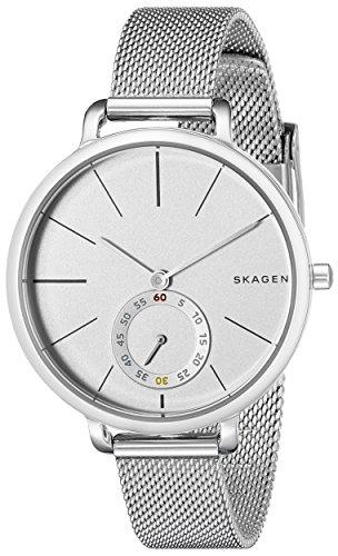 Skagen SKW2358 Hagen reloj de malla de acero inoxidable de las mujeres acero inoxidable Acero inoxidable