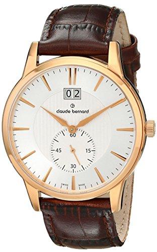 Claude Bernard Reloj de Cuarzo Suizo para Hombre 64005 37R Air Classic para Hombre