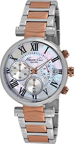 Kenneth Cole Reloj Cronógrafo para Mujer de Cuarzo con Correa en Acero Inoxidable KC4970