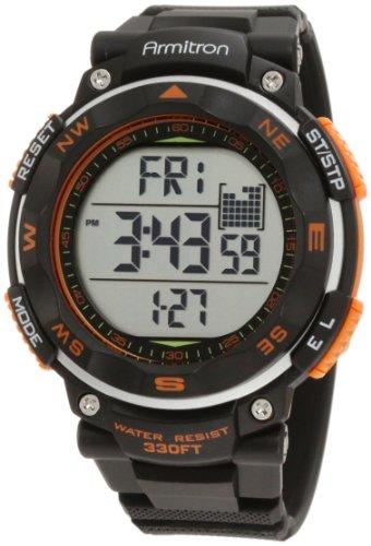 Armitron 40/8254ORG - Reloj de Pulsera para Hombre