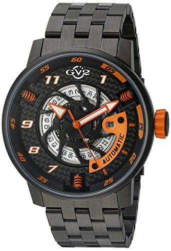 GV2 - Reloj de Pulsera de Acero Inoxidable para Hombre (Modelo 1304B)