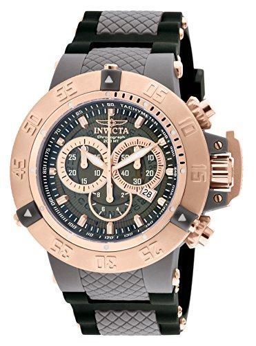 Invicta 0932 Subaqua - Noma III Reloj para Hombre acero inoxidable Cuarzo Esfera gris