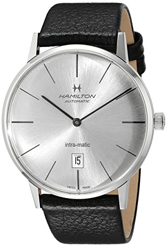 Hamilton H38755751 American Classic Reloj Suizo automático Negro con visualización analógica