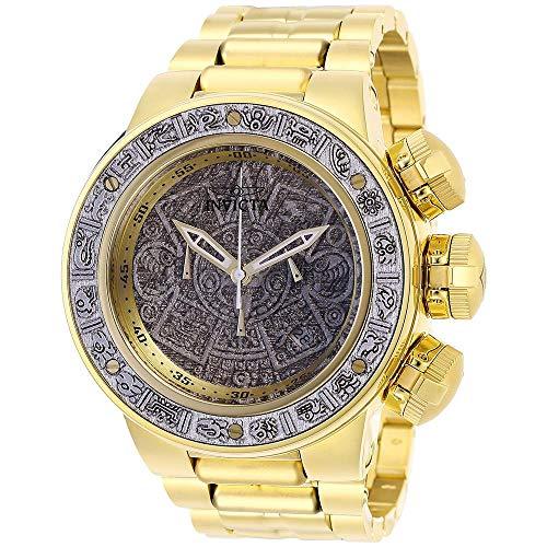 Invicta Subaqua 28255 - Reloj cronógrafo para Hombre (Mecanismo de Cuarzo, Esfera Plateada)