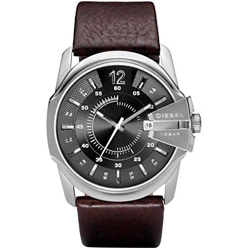 Diesel Master Chief Reloj de Quartz plata